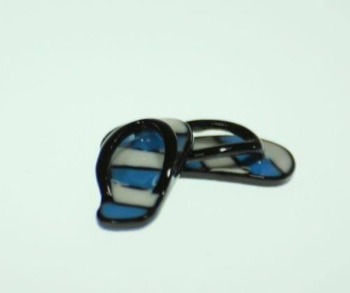 Tc0938 - Tongs bleues