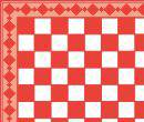 Tc8014 -Shiny and red plaid paper