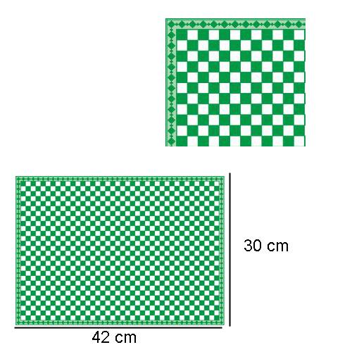 Tc8017 - Cuadros verdes con brillo