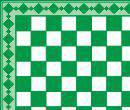 Tc8017 - Shiny green plaid paper