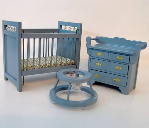 Cj0009 - Chambre bébé bleu