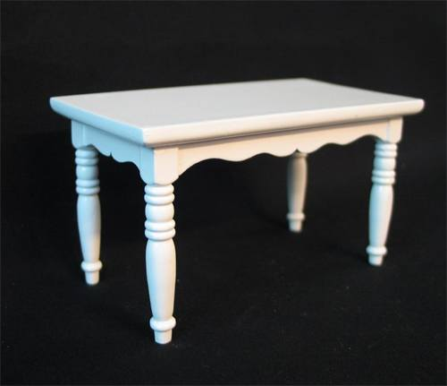 Mb0206 - Mesa de cocina blanca