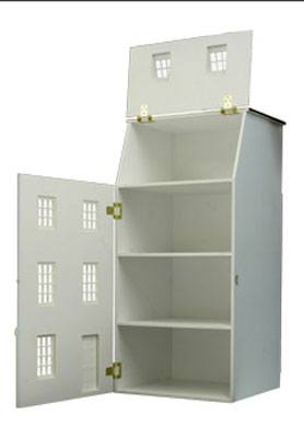 Case delle bambole bm026 casa la torre in kit for Piani di casa porte cochere