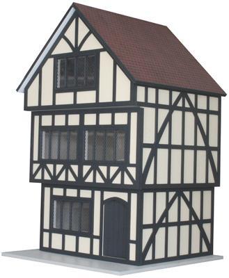Bm031 - Casa Tudor en kit