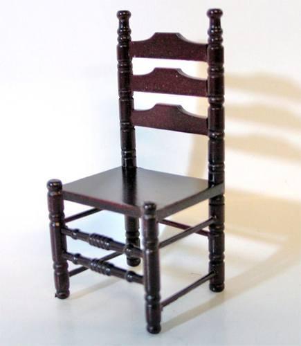 Mb0229 - Dos sillas caobas