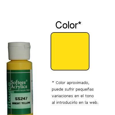 Pt0062 - Pintura acrilica amarillo brillo