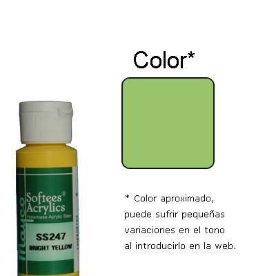 Pt0064 - Pittura acrilica giallo verde