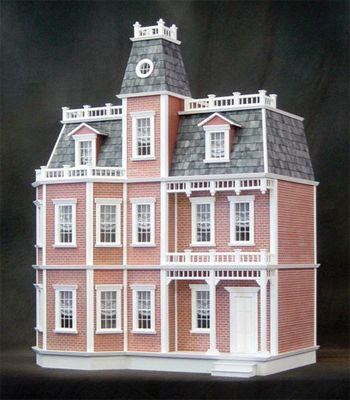 Case delle bambole rg002 casa newport di mattoni in kit for Casa vittoriana in mattoni
