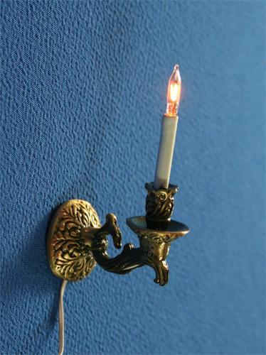 Sl3990 - Lampara de pared 1 vela