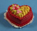 Sm0135 - Gâteau coeur aux fruits