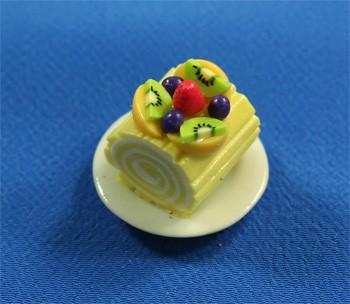 Sm0609 - Portion de gâteau roulé