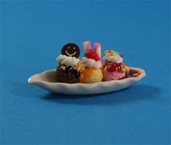 Sm1202 - Tres bolas de helado y sirope