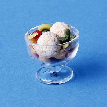 Sm1502 - Copa de helado con frutas