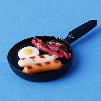 Sm3302 - Sartén con bacon