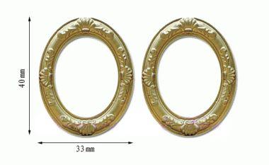 Tc0016 - Due cornici ovali