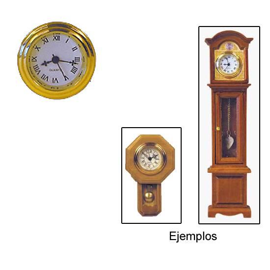 Tc0152 - Reloj dorado funcional