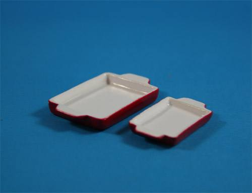 Tc0237 - 2 red trays