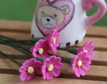 Tc0965 - Flores rosas