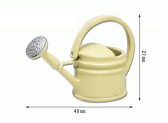Tc0973 - Annaffiatoio color crema