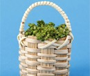 Tc1054 - Basket with white grapes
