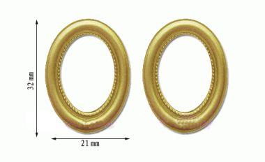 Tc1339 - Dos marcos ovalados