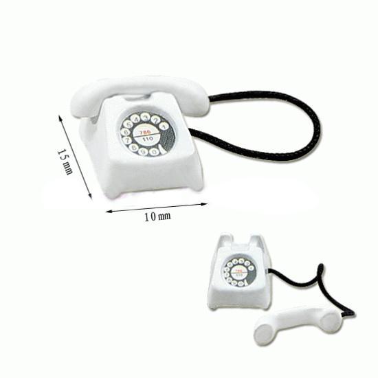 Tc1418 - Téléphone blanc