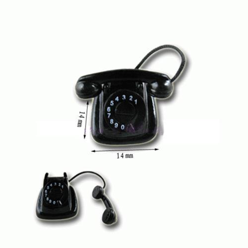 Tc1430 - Teléfono negro