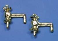Tc1437 - Deux robinets dorés