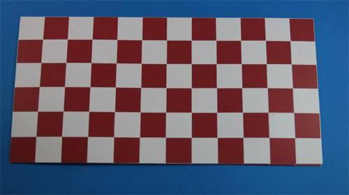 Wm34126 - Azulejos de cuadros granates y blancos