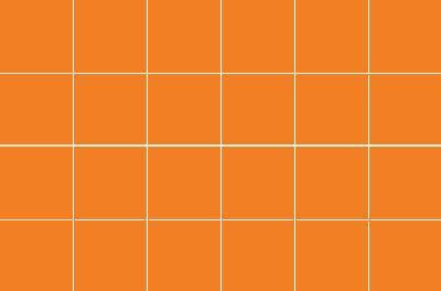 Wm34154 - Azulejos lisos naranja