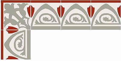 Greche per pavimenti - Wm34179 - Case Delle Bambole