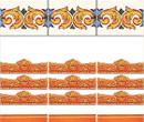 Wm34375 - Greche arancioni n75