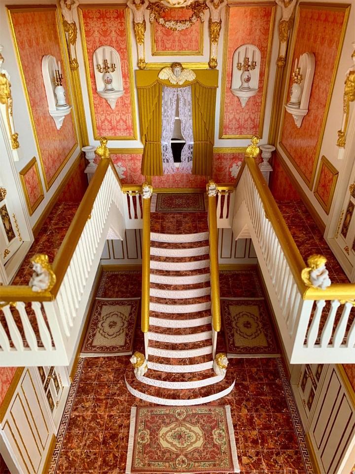 Scala centrale della Stapleford House
