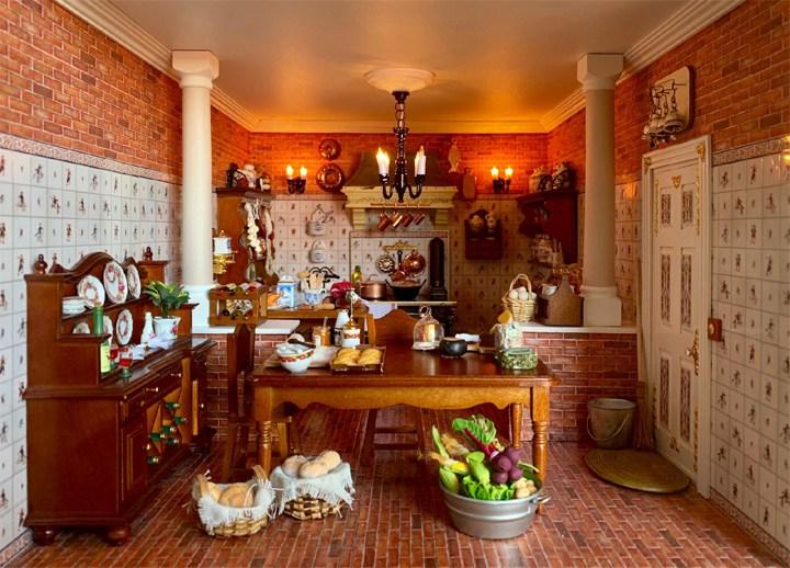 Casa delle bambole Casa di cucina Stapleford Modello